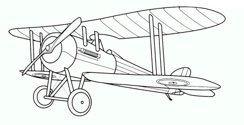 means of air transport colouring pages page 2