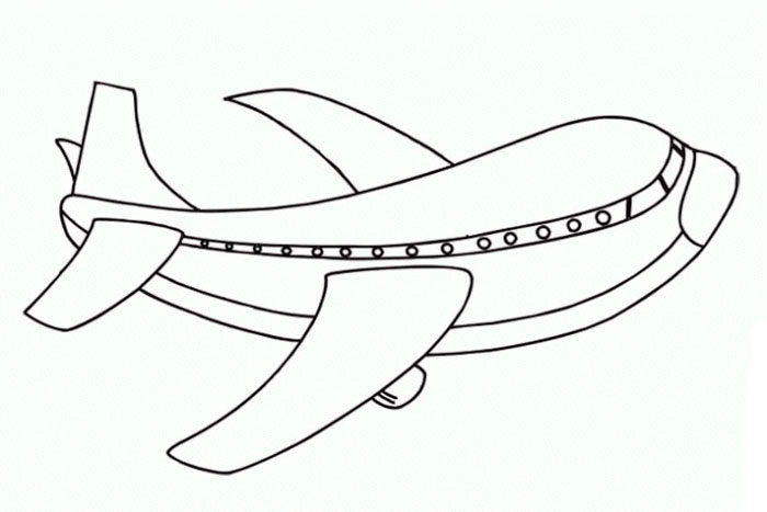 free means of transport air coloring pages