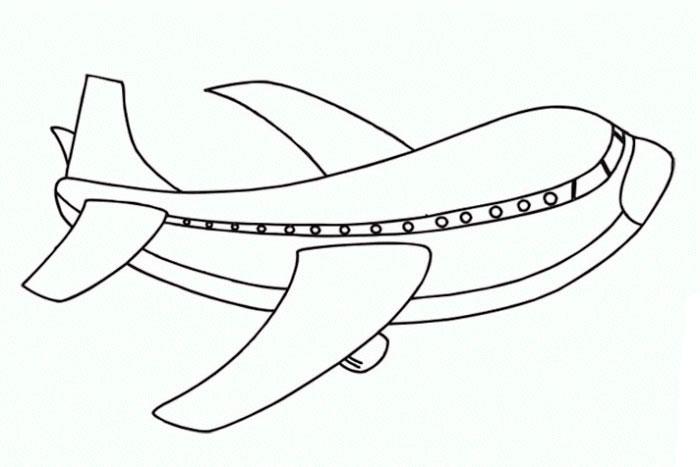 раскраски воздушный транспорт скачать распечатать