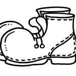раскраска одежда, раскраска обувь