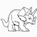раскраски вымершие животные, раскраски динозавры