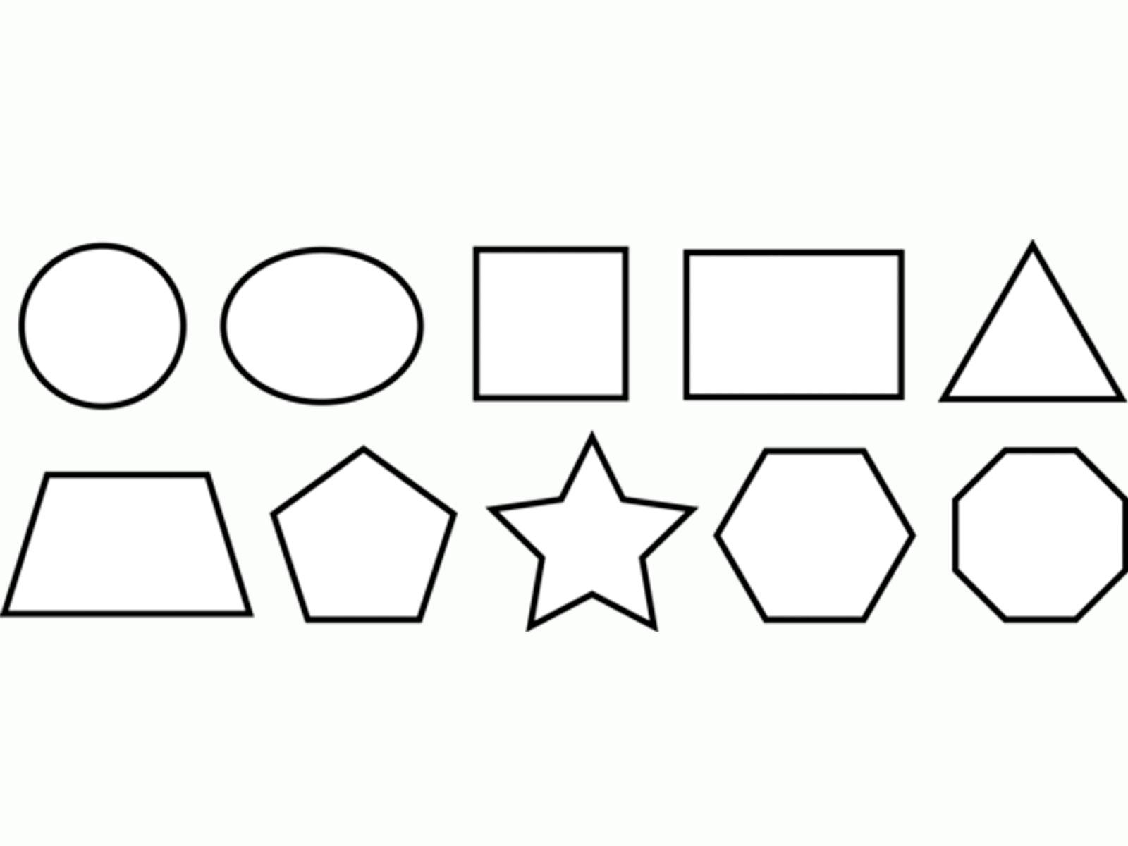 Схемы вырезания из бумаги геометрических фигур