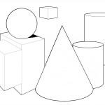 раскрака геометрические фигуры
