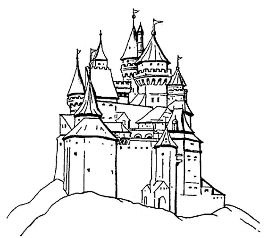 Раскраски крепость