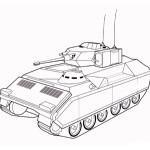 раскраска военная техника