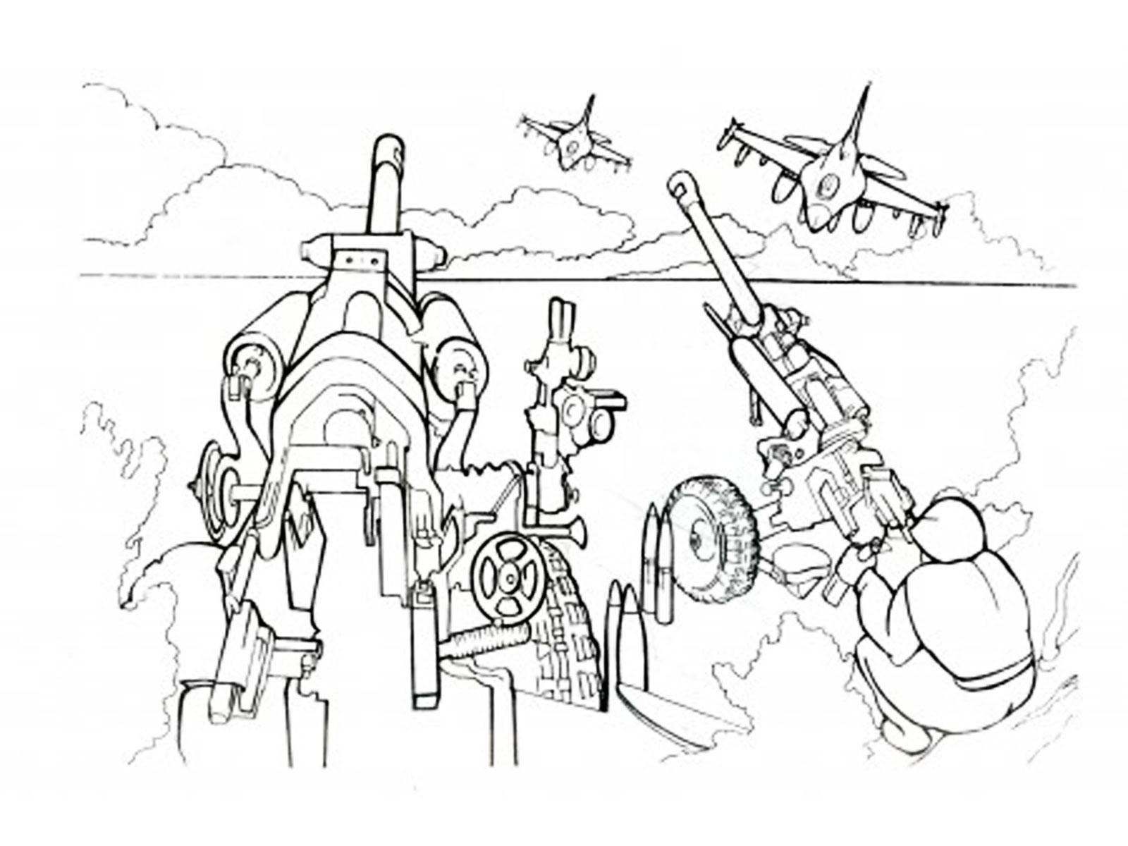 Раскраски военная техника. Скачать. Распечатать