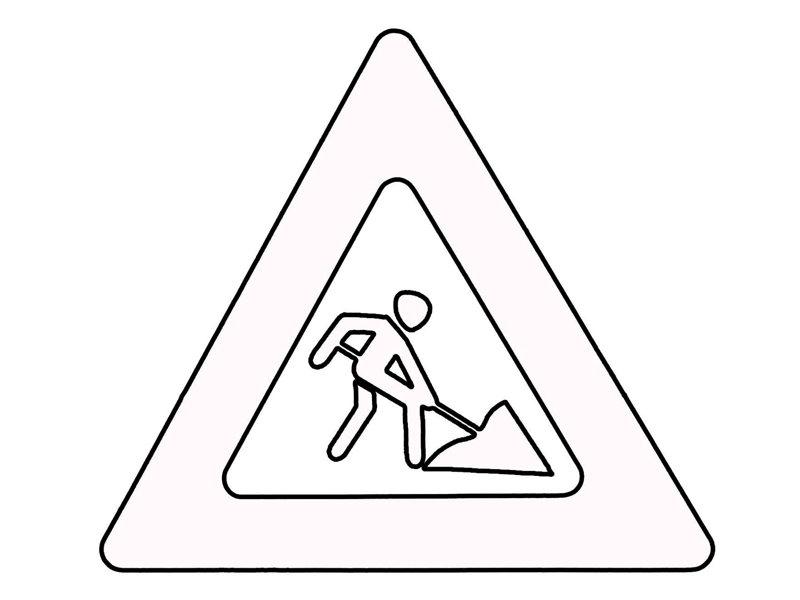 free road signs coloring pages - photo#9