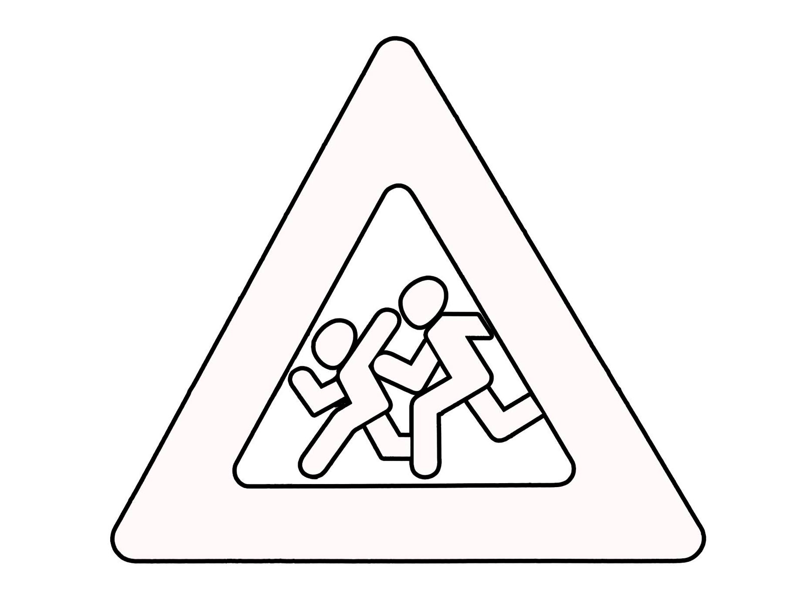 free road signs coloring pages - photo#16