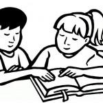раскраски школа