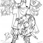 раскраска солдаты, раскраски воинов, раскраски рыцарей