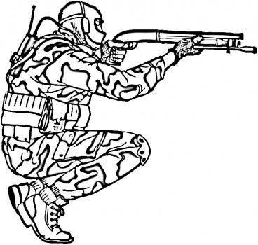 Солдаты раскраска онлайн