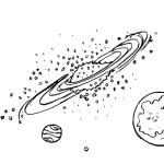 раскраски космос