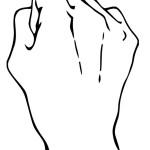 раскраска тело человека, раскраска рука