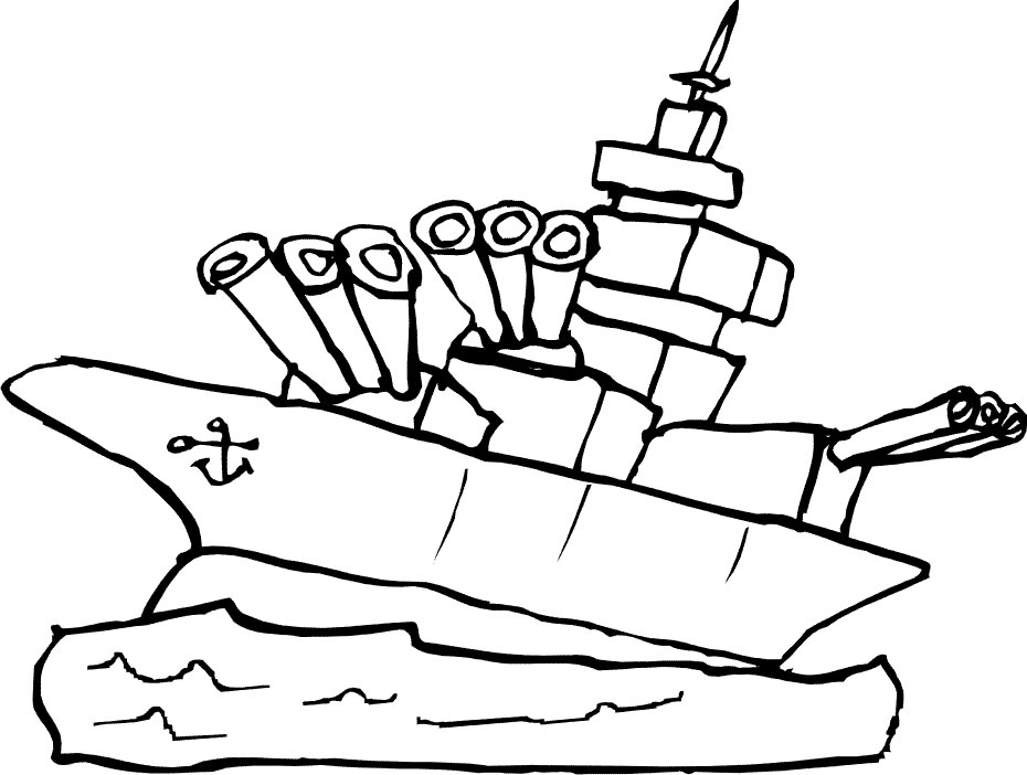 Water Transportation Coloring Pattern Coloring Pages