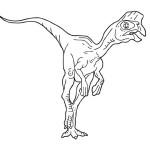 Раскраски с динозаврами