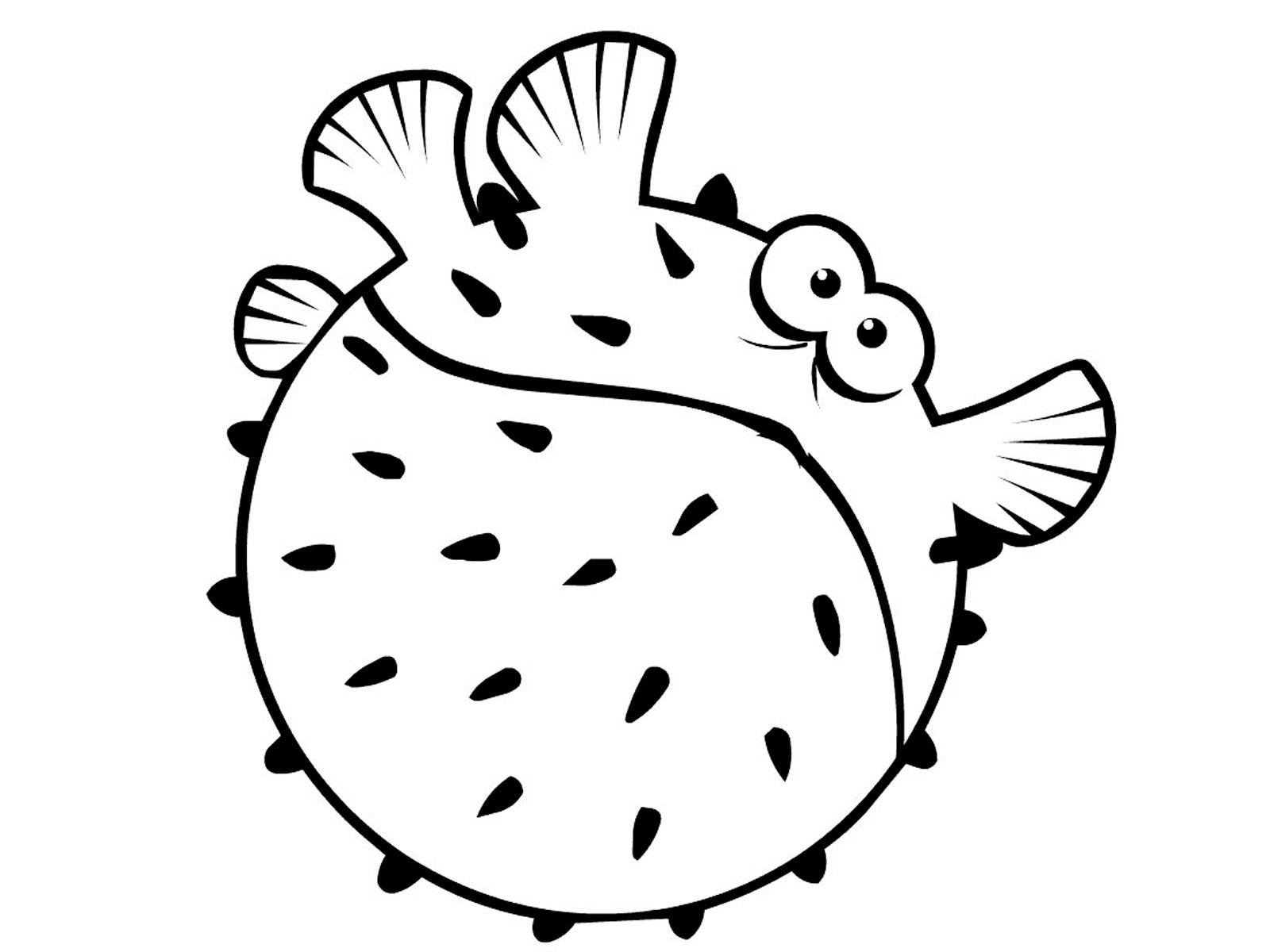 Рыбки картинки раскраски для детей