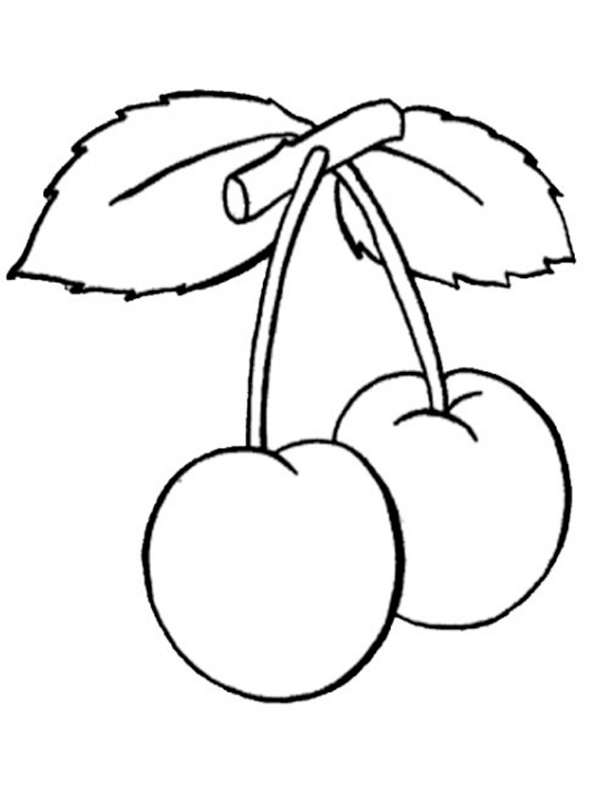 Раскраски фрукты и ягоды. Скачать. Распечатать | StranaKids.ru