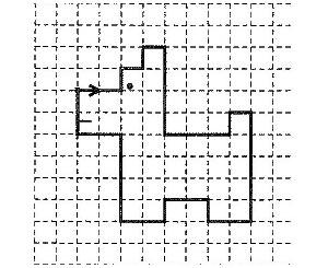 графический диктант, рисование по клеточкам