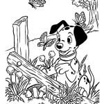 раскраска 101 далматинец