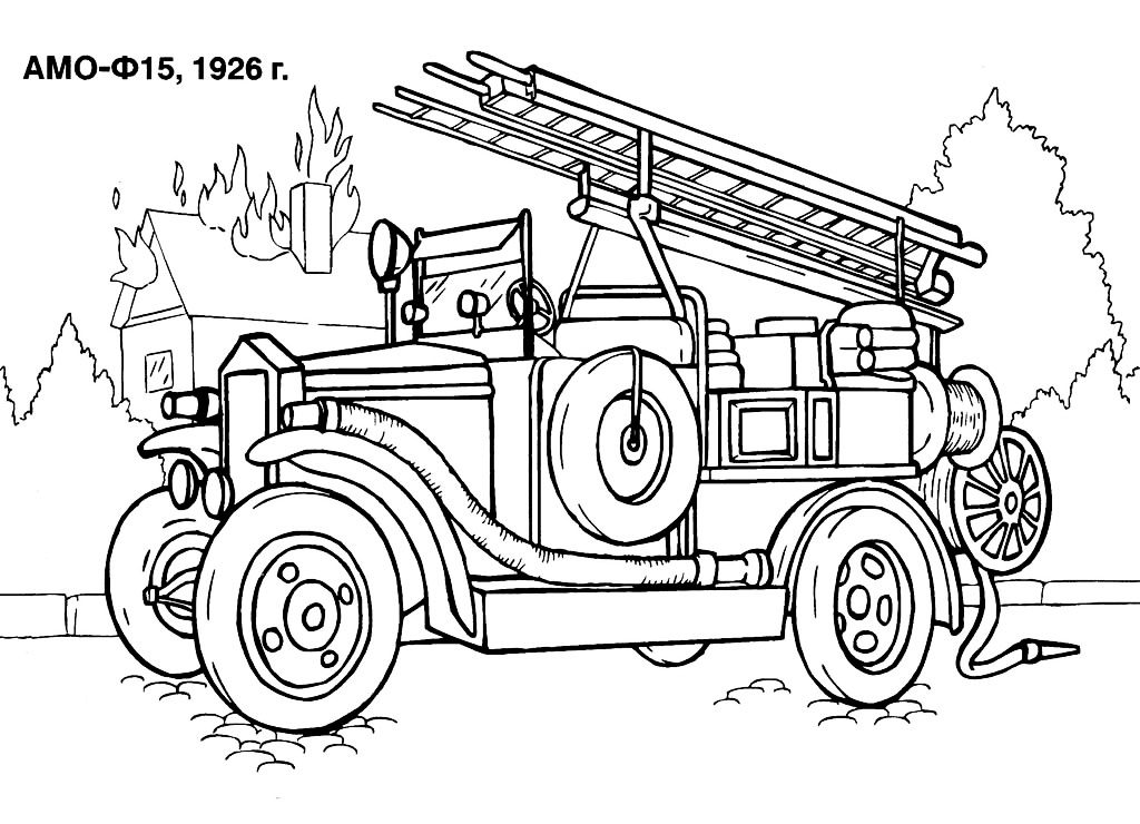 Free Coloring Pages Of No Fire Trucks Firetruck Coloring Pages