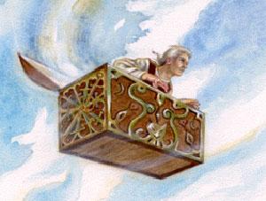 Сундук-самолёт,The Flying Trunk