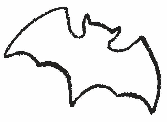 Летучее мыши раскраска