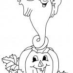 раскраска хэллоуин, раскраскИ привидение