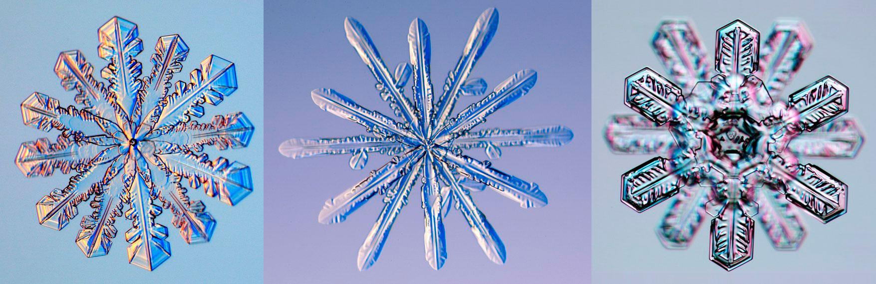 Снег - твердые осадки в виде кристаллов (снежинок)