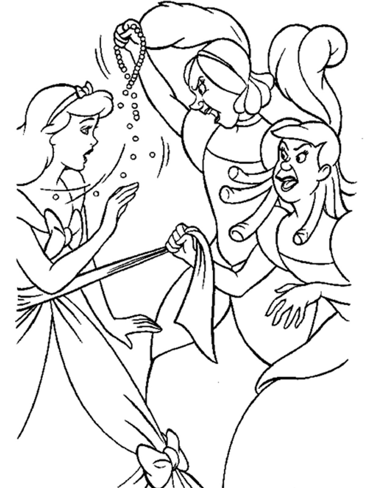 Раскраска для девочек пони раскрашивать