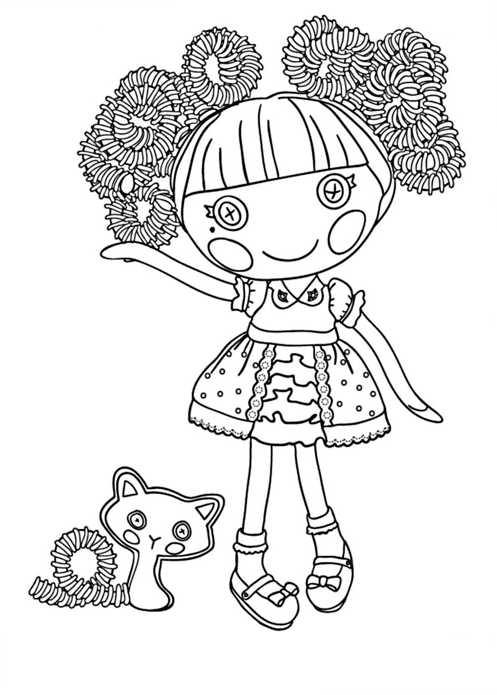 Lalaloopsy Coloring Pages To P Coloring Pages Lalaloopsy Colouring Pages