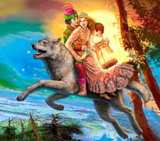 Ivan carevich i seryj volk