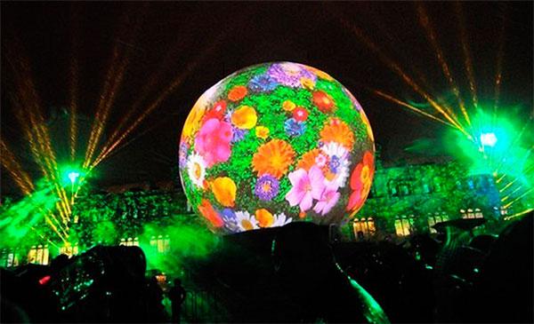 Фестиваль света 2014 в Москве