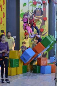 скалолазный центр для детей