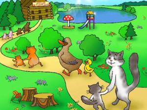 Стих Лесной детский сад